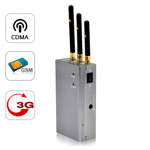 Handheld 2G 3G Cell Phone Signal Jammer for Sales