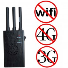 3 Antennas Handheld Wireless Video WiFi Bluetooth Signal Blocker