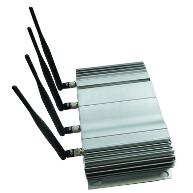 Signal blocker Thornlie - 4 Antenna 20W High Power 3G Cell phone & WiFi Jammer with Outer Detachable Power Supply