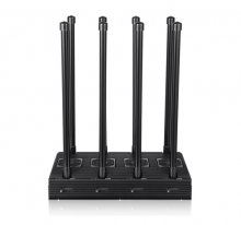 Newest 210W High Power Mobile Phones WiFi GPS All-in-one Signal Blocker with 8 Antennas