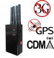 4 Antennas Handheld GPS 3G Cellphone Signal Blocker