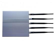 12W Powerful Desktop Style 3G Cellphone Signal Jammer with 5 Antennas
