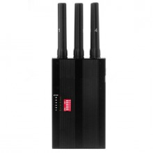 6 Antennas Handheld Selectable 3G 4G Full Frequency Cellphone Signal Jammer & WiFi Jammer