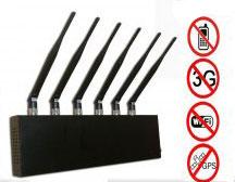 10W Worldwide High Power Desktop 3G GPS Bluetooth Signal Jammer