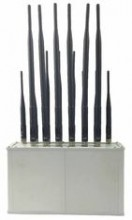 High Power Signal Jammer with 14 Bands for Mobile Phone,Wi-Fi,Lojack,VHF&UHF Radio