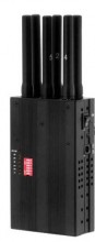 Portable GPSL1 GPSL2 GPSL5 LoJack 3G Signal Jammer with Selectable Buttons