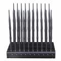 Newest 20 Bands All-in-one Cell Phone WiFi GPS UHF VHF RF Remote Control Signal Jammer