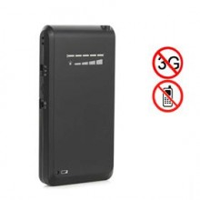 Hidden Style Mini Handheld 3G Cell Phone Signal Blocker