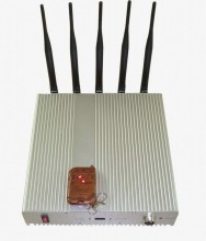 15W Powerful Desktop Remote Controlled 3G Cellphone Signal Jammer