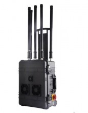 High Power GPS WiFi Bluetooth 3G Signal Jammer with Portable Pelican Case