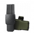 Handheld 12 Channels All Cell Phone Jammer 4G/3G/2G + WiFi(2.4G, 5.8G)+ GPS + 315/433/868 Car Remote Control Signal Blocker