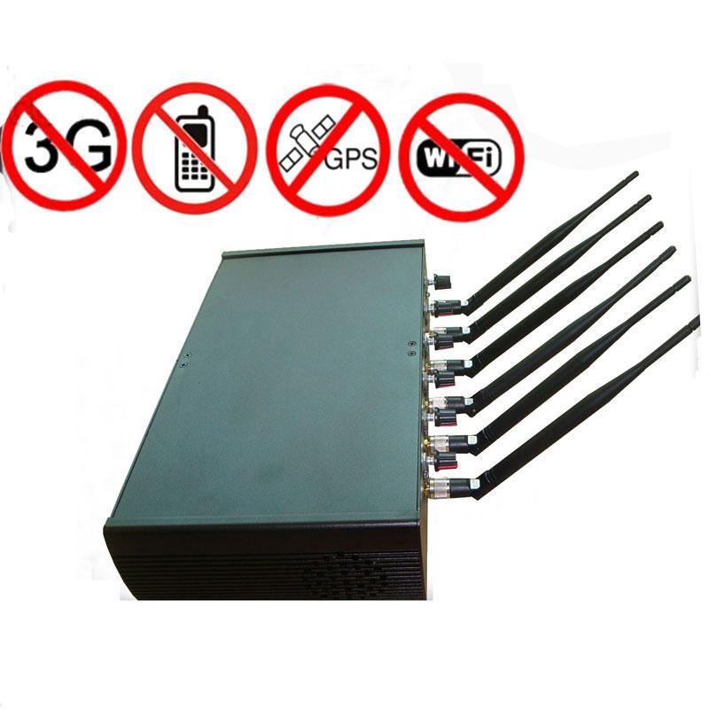 6 Antennas WIFI Jammer - 6 Antennas Bluetooth Jammer