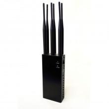 Portable Bluetooth WIFi Jammer & 2G 3G 4G GSM Phone Blocker