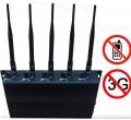 High Power Adjustable Desktop 3G Cellphone Signal Blocker