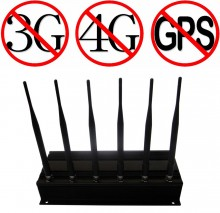 Powerful 3G 4G Cellphone Blocker with 6 Antennas