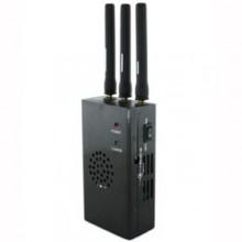 Portable 3 Antennas XM Radio LoJack 4G Mobile Phone Signal Jammer
