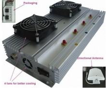 45W Indoor 3G Cell Phone Signal Blocker with 100 Meters Jamming Range