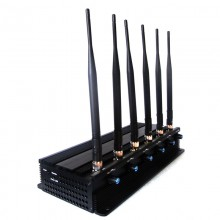 Adjustable Powerful VHF UHF Walkie-Talkie 3G Mobile Phone Signal Jammer