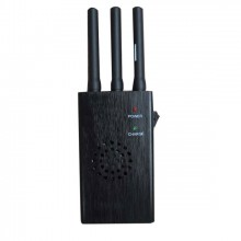 Portable 2G 3G Cellphone Signal Jammer with Cooling Fan