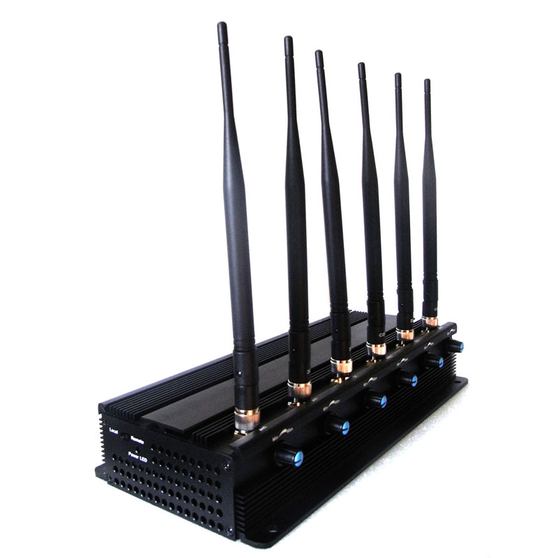 3g blocker , 8 Antennas Walkie-talkie Blocker